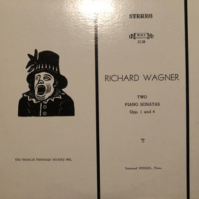 Richard Wagner - Two Piano Sonatas Opp. 1 and 4