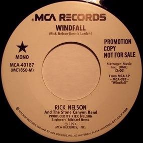 Rick Nelson - Windfall