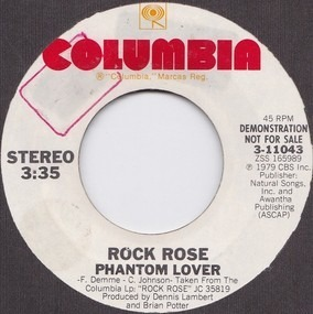 Rock Rose - Phantom Lover