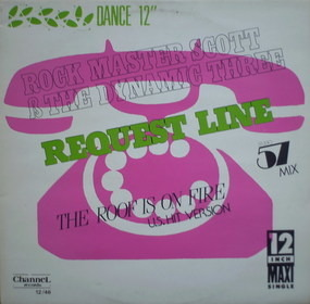 Rock Master Scott & the Dynamic Three - Request Line (Studio 57 Mix)