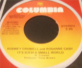 Rodney Crowell - It's Such A Small World