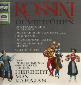 Gioacchino Rossini - Ouvertüren (Karajan)