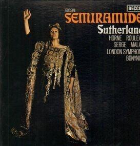 Gioacchino Rossini - Semiramide (Sutherland)