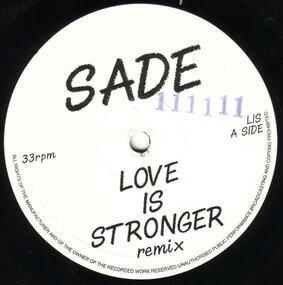 Sade - Love Is Stronger (Remix)