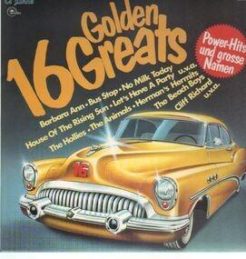 The Hollies - 16 Golden Greats Power-Hits Und Grosse Namen