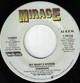 Shannon - My Heart's Divided / Someone Waiting Home