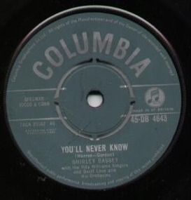 Shirley Bassey - You'll Never Know