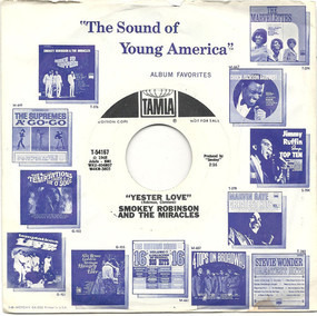 Smokey Robinson & the Miracles - Yester Love