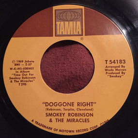 Smokey Robinson & the Miracles - Doggone Right / Here I Go Again