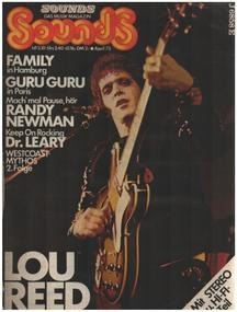 Lou Reed - 4/73 - Lou Reed