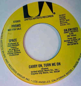 Space - Carry On, Turn Me On