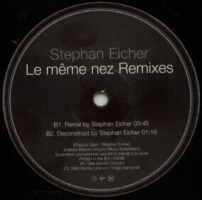 Stephan Eicher - Le Même Nez (Remixes)
