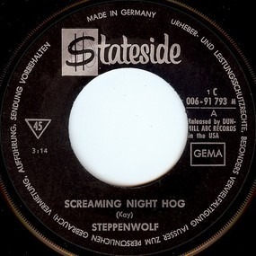 Steppenwolf - Screaming Night Hog