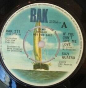 Suzi Quatro - If You Can't Give Me Love - Cream Dream