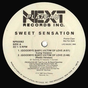 Sweet Sensation - (Goodbye Baby) Victim Of Love