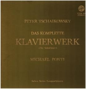 Pyotr Ilyich Tchaikovsky - Das komplette Klavierwerk für Soloklavier
