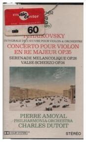 Pyotr Ilyich Tchaikovsky - Concerto En Ré / Valse / Scherzo / Sérénade Mélancolique