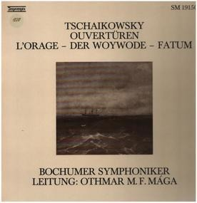 Pyotr Ilyich Tchaikovsky - Ouvertüren: L'Orage / Der Woywode / Fatum