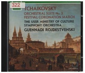 Pyotr Ilyich Tchaikovsky - Suite No 3 / Coronation March