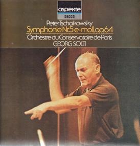 Pyotr Ilyich Tchaikovsky - symphonie Nr 5 e-moll, op. 64