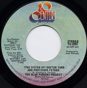 The Alan Parsons Project - Doctor Tarr And Professor Fether