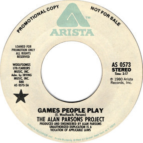 The Alan Parsons Project - Games People Play