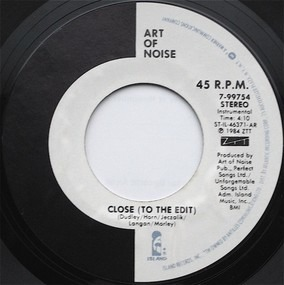The Art of Noise - Close (To The Edit)