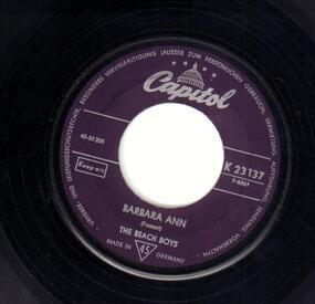 The Beach Boys - Barbara Ann / Girl Don't Tell Me