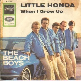The Beach Boys - When I Grow Up (To Be A Man) / Little Honda