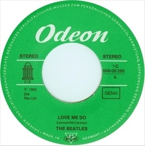 The Beatles - Love Me Do / P.S. I Love You