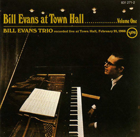 Bill Evans Trio - At Town Hall ....... Volume One