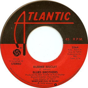 The Blues Brothers - Rubber Biscuit / 'B' Movie Box Car Blues