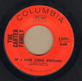 The Carter Family - If I Live Long Enough