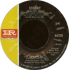 The Classics IV - Stormy / 24 Hours Of Loneliness