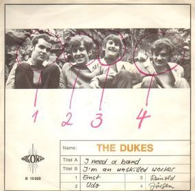 The  Dukes - I Need A Band