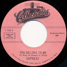 The Duprees - You Belong To Me / Take Me As I Am
