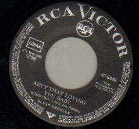 Elvis Presley - Ain't That Loving You Baby / Ask Me