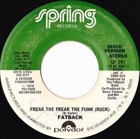 Fatback Band - Freak The Freak The Funk (Rock)
