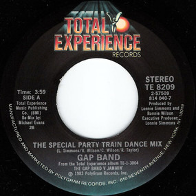 The Gap Band - Party Train (The Special Party Train Dance Mix)