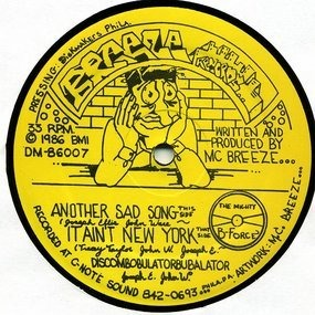 The Singing MC Breeze & Hand Master Flash - Another Sad Song