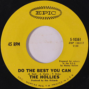 The Hollies - Do The Best You Can