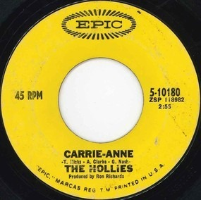 The Hollies - Carrie-Anne