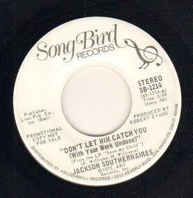 Jackson Southernaires - Don't Let Him Catch You (stéreo) / Don't Let Him Catch You (mono)