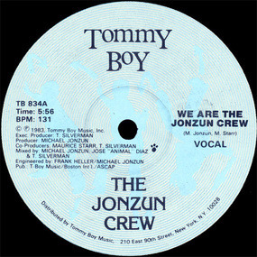 The Jonzun Crew - We Are The Jonzun Crew