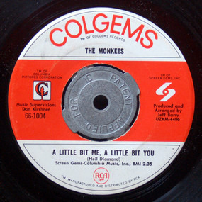 The Monkees - A Little Bit Me, A Little Bit You / The Girl I Knew Somewhere