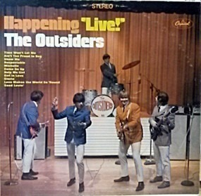The Outsiders - Happening 'Live!'