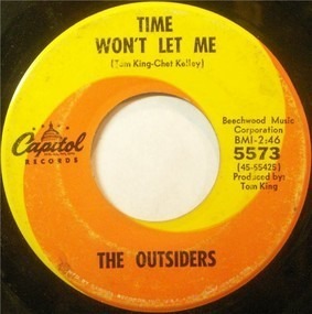 The Outsiders - Time Won't Let Me / Was It Really Real