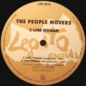 the people movers - C Lime Woman