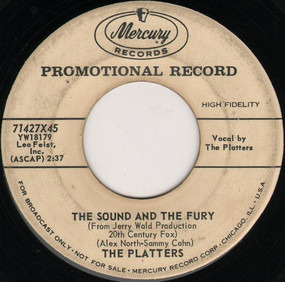 The Platters - The Sound And The Fury