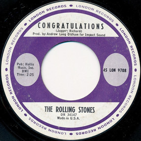 The Rolling Stones - Time Is On My Side / Congratulations